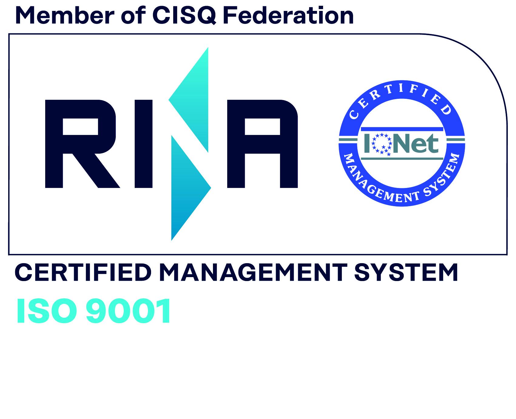 Overlog ISO 9001:2015