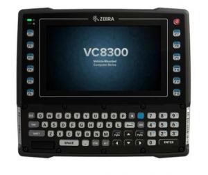 Visione Frontale Zebra VC8300