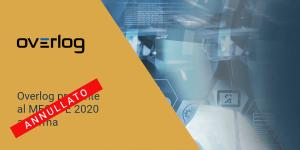 Overlog al MECSPE 2020 Annullato